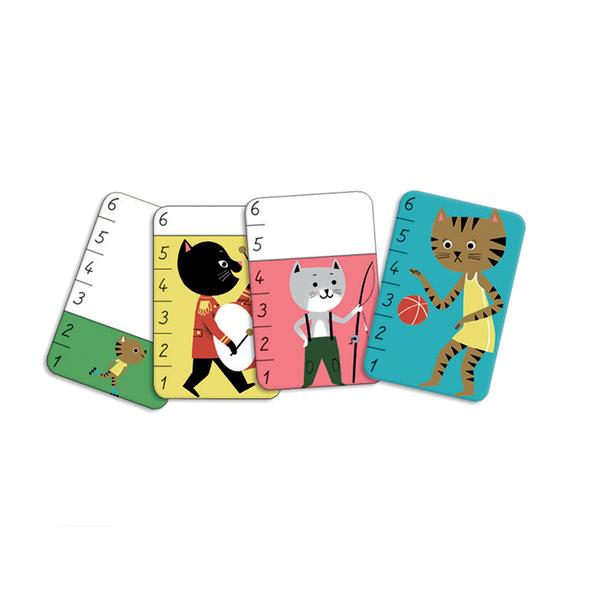 Djeco карти за игра Bata Miaou