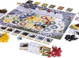 Настолна игра Catan - A Game of Thrones - Brotherhood of the Watch