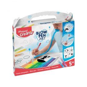 Творчески комплект Maped - Дъска за рисуване с издухване