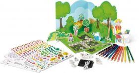 Творчески комплект Maped - Оцвети и играй - Направи си градина