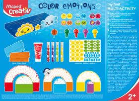 Творчески комплект Maped - Цветни емоции