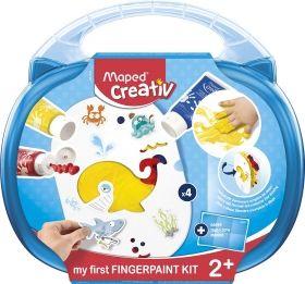 Творчески комплект Maped - Рисуване с пръсти