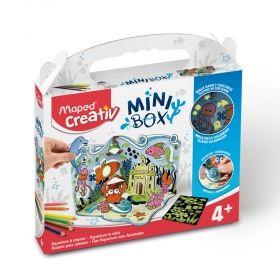 Творчески комплект Maped Mini Box - Направи си аквариум