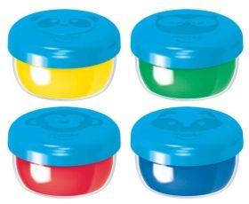 Комплект бои Maped Color' Peps, за рисуване с пръсти, 4 броя цвята