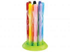 Комплект флумастери Maped - Color' Peps Jungle, с гумена поставка, 12 броя/цвята