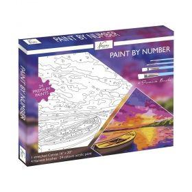 Комплект за рисуване по номера Nassau - Paint by Number