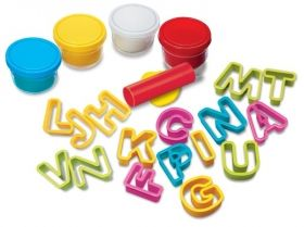 Творчески комплект 4M - Направи си букви от пластилин