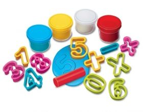 Творчески комплект 4M - Направи си цифри от пластилин