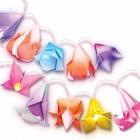 Творчески комплект 4M - Оригами цветя - лампички