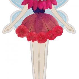 Творчески комплект 4M - Направи си фея от цветя