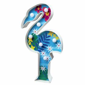 Творчески комплект 4M - Направи си настолна лампа, Фламинго