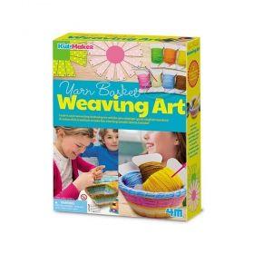 Творчески комплект 4M - Изкуството на плетенето
