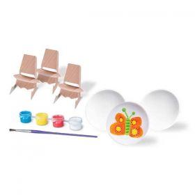 Творчески комплект 4M - Нарисувай си мини чинии
