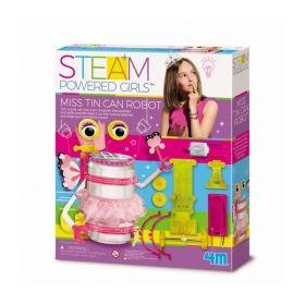 Творчески комплект 4M - Направи си робот от кенче