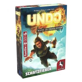 Настолна игра UNDO - Treasure Fever