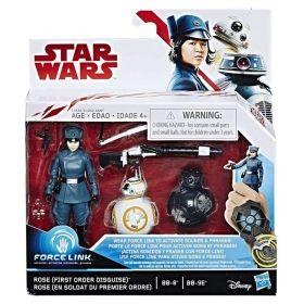 Комплект 2 бр. фигури с аксесоари, Star Wars Force Link, различни модели
