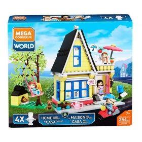 """Конструктор """"Къща"""", Mega Construx World, 254 части"""