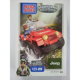 Конструктор MEGA BLOKS  Jeep Wrangler