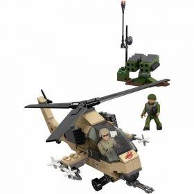 Конструктор   Mega Bloks Военен хеликоптер