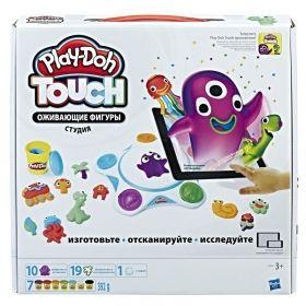 Комплект с пластелин Play-doh Touch Shape to Life, С приложение за сканиране