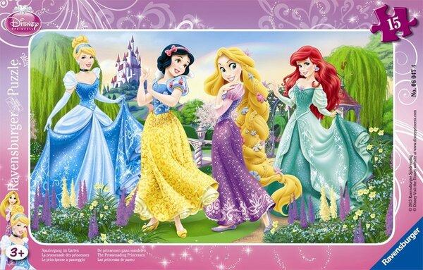Пъзел Ravensburger от 15 части - Принцесите на Дисни