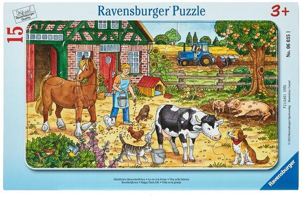 Пъзел Ravensburger от 15 части - Веселата ферма