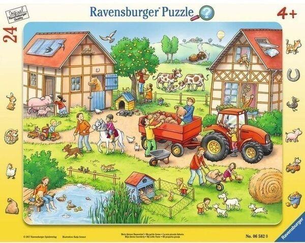Пъзел Ravensburger от 24 части - Моята малка ферма