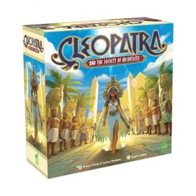 Настолна игра Cleopatra and the Society of Architects - Deluxe Edition