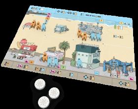 Настолна игра Santa Monica