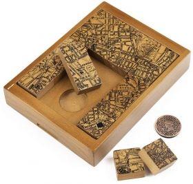 Дървена игра пъзел Professor Puzzle - The Case of the Secret Society