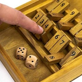 Настолна игра Professor Puzzle - Shut The Box