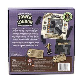 Настолна игра логически пъзел Professor Puzzle - Escape from the Tower of London