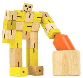 Дървена игра 3D пъзел Professor Puzzle - STEM Puzzle Set