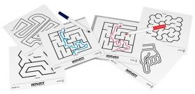 Настолна игра Professor Puzzle - Reflect Mirror Mazes