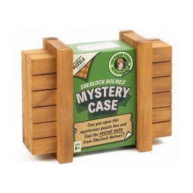 Дървен логически пъзел Professor Puzzle - Mystery Case