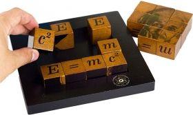 Дървен логически пъзел Professor Puzzle - Einstein's Six Square Challenges
