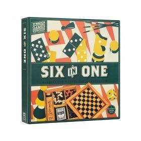 Комплект класически игри Professor Puzzle - 6 в 1