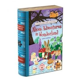 Двустранен пъзел от 252 части Professor Puzzle - Алиса в страната на чудесата