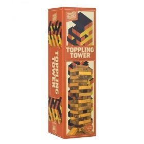 Дървена дженга Professor Puzzle - Toppling tower