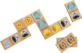 Голямо домино Professor Puzzle - Safari Animals