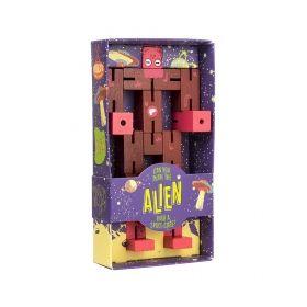 Дървен 3D пъзел Professor Puzzle - Alien