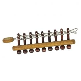 Дървен логически пъзел Professor Puzzle - Sword of Nine Seals