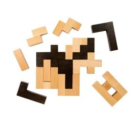 Дървен 3D пъзел Professor Puzzle - Einstein's Letter Block