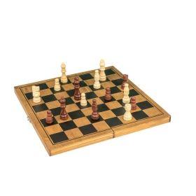 Дървен шах Professor Puzzle
