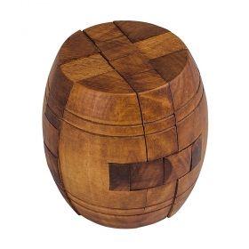 Дървен логически пъзел Professor Puzzle - Nelson's Barrel
