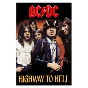 Постер AC/DC - Highway to Hell, 91,5 х 61 см