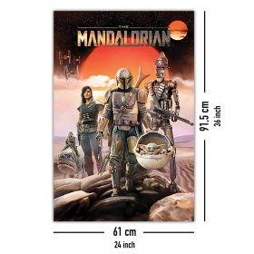 Постер Star Wars - The Mandalorian
