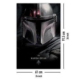 Постер Star Wars - The Mandalorian Dark