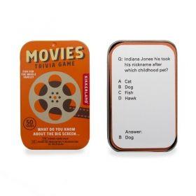 Настолна игра Kikkerland - Movies Trivia Game, картова