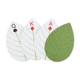Карти за игра Kikkerland - Huckleberry Leaf Cards